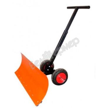 Лопата металлическая на колесах (сталь 2 мм)