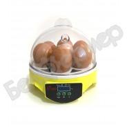 "Мини инкубатор для яиц на 7 яиц ""HHD 7"" с терморегулятором"