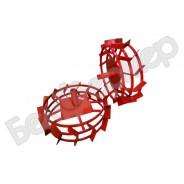 Грунтозацепы (комплект) ф 540/460 мм, шир. 160 мм, 6-гр. втулка 32 мм, 3 обруча