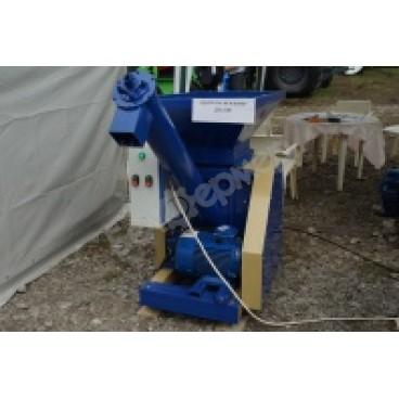 Дробилка вальцовая для зерна ДВ-300, Двигатель 7,5 кВт