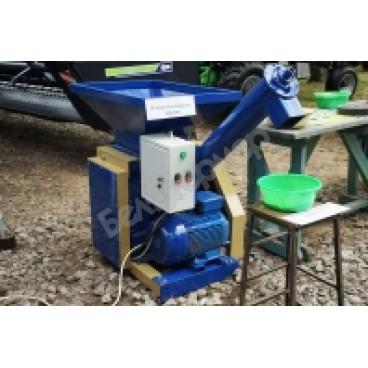 Плющилка вальцовая для зерна ПВ-300, Двигатель 7,5 кВт