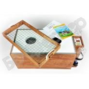 Инкубатор цифровой Блиц 72Ц, деревянный корпус
