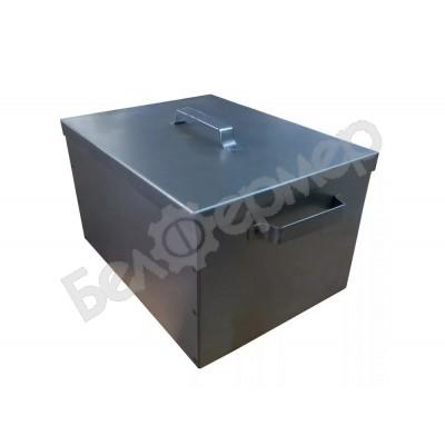 Коптильня Петромаш из черной стали, 2 уровня