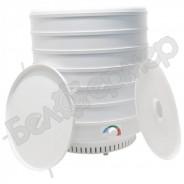 Сушилка для овощей и фруктов Ветерок-2 (6 поддонов, белый), 600Вт + Поддон для пастилы
