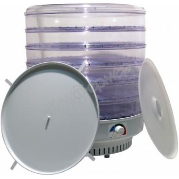 Сушилка для овощей и фруктов Ветерок-2 (6 поддонов, прозрач.) 600Вт + Поддон для пастилы