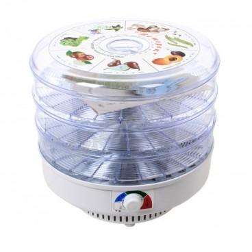 Сушилка для овощей и фруктов Ветерок-2 (3 поддона, прозрач.) 500Вт
