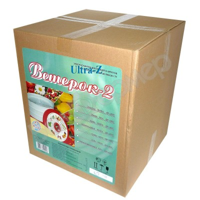 Сушилка для овощей и фруктов Ветерок-2 (5 поддонов, прозрачный)