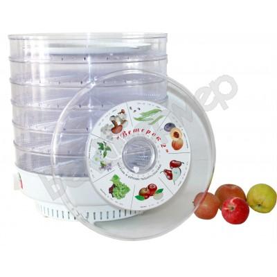 Сушилка для овощей и фруктов Ветерок-2 (6 поддонов, прозрачный)