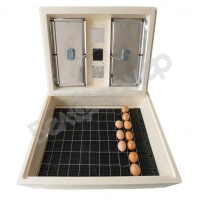 Инкубатор Золушка на 70 яиц (ручной, цифровое табло, гигрометр)