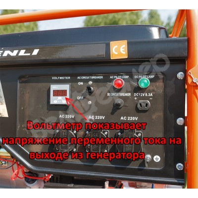 Бензогенератор Shtenli Pro S 3900 (3,3 кВт)