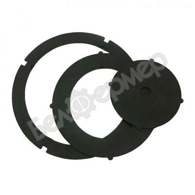 Набор стальных колец для печи под казан (35 см)