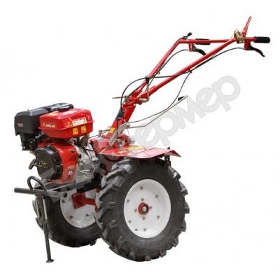 Мотоблок бензиновый ASILAK SL-133X, колёса 6.00-12