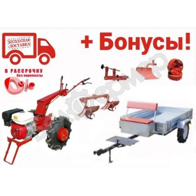 Мотоблок Беларус-09Н (HONDA 9,0 л.с.) колеса 6.00х12 Индия