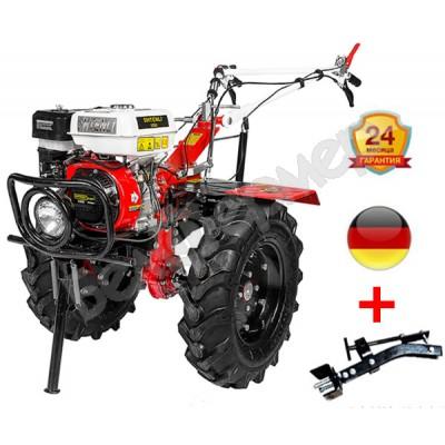 Мотоблок бензиновый Shtenli 1030 с ВОМ и пониженной передачей  (8,5 л.с.,колеса 6*12)