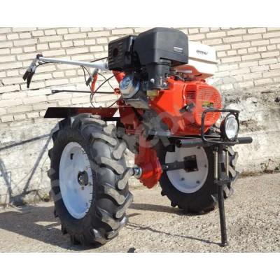 Мотоблок бензиновый Shtenli 1900 PRO с ВОМ и пониженной передачей (18 л.с.,колеса 7*12)