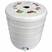 Сушилка для овощей и фруктов Ветерок-2 (5 поддонов, белый)
