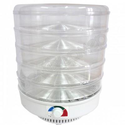 Сушилка для овощей и фруктов ЭСОФ-0,5/220 Ветерок-2 (5 сит, прозрачный)